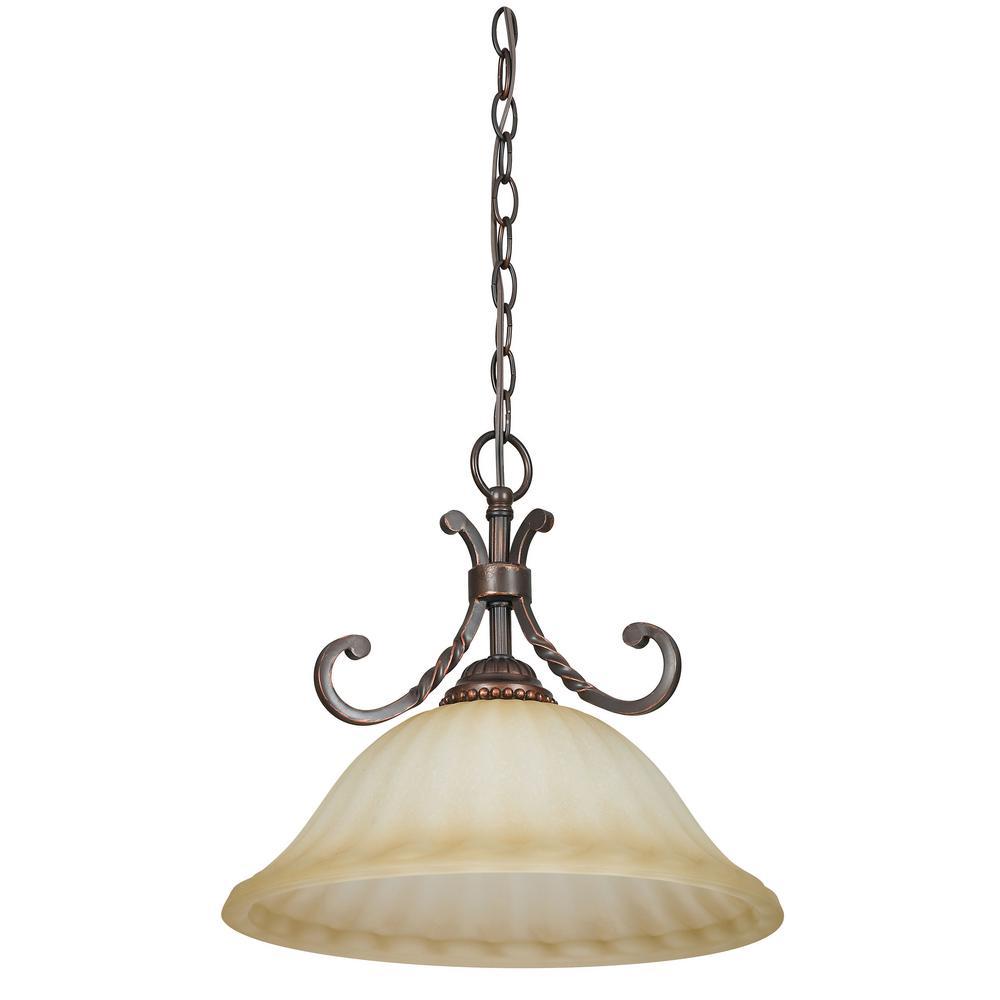 Graham 1-Light Mahogany Pendant