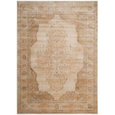 Vintage Cream 7 ft. x 9 ft. Area Rug