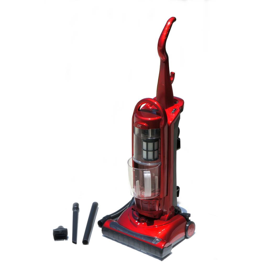 Spt Bagless 1200 Watt Upright Vacuum Cleaner With Hepa V