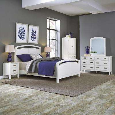 Modern - Wood - White - Bedroom Sets - Bedroom Furniture - The Home ...
