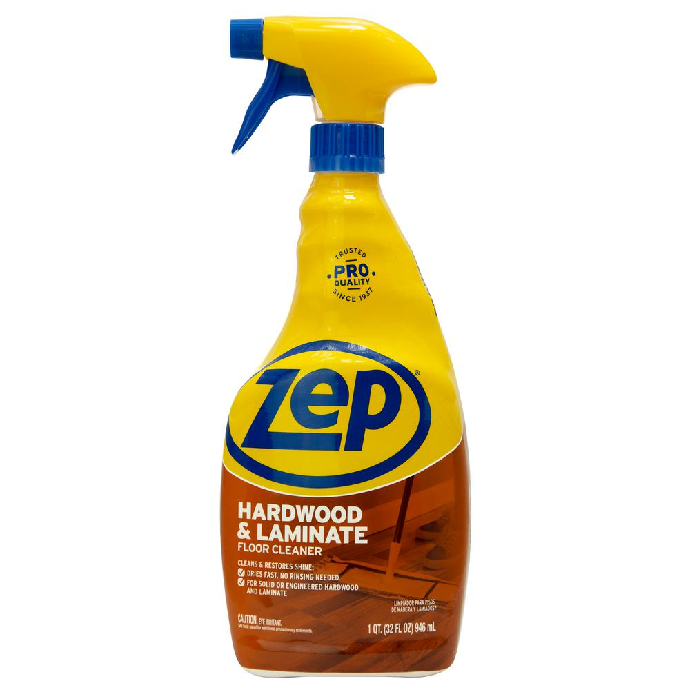 Zep 32 Oz Hardwood And Laminate Floor Cleaner Zuhlf32 The Home
