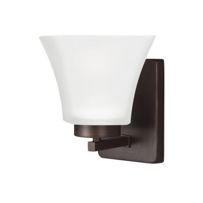 Bayfield 1-Light Burnt Sienna Wall Sconce