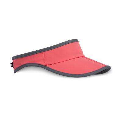 Unisex One Size Fits All Coral Aero Visor