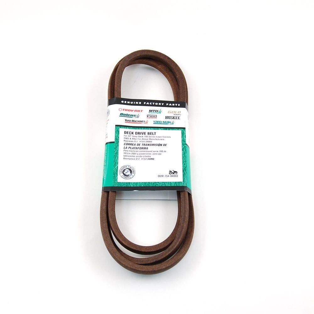 MTD Genuine Factory Parts 42 in. Deck Belt for MTD Lawn Tractors 2006 and After
