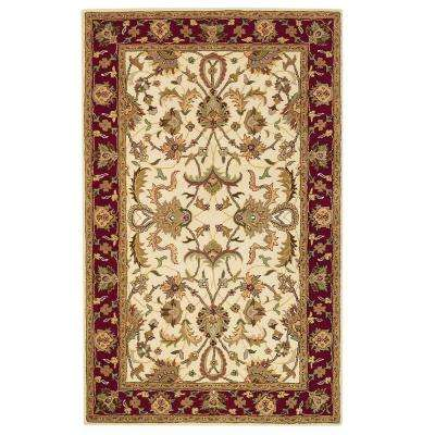 Constantine Ivory 2 ft. x 3 ft. Area Rug