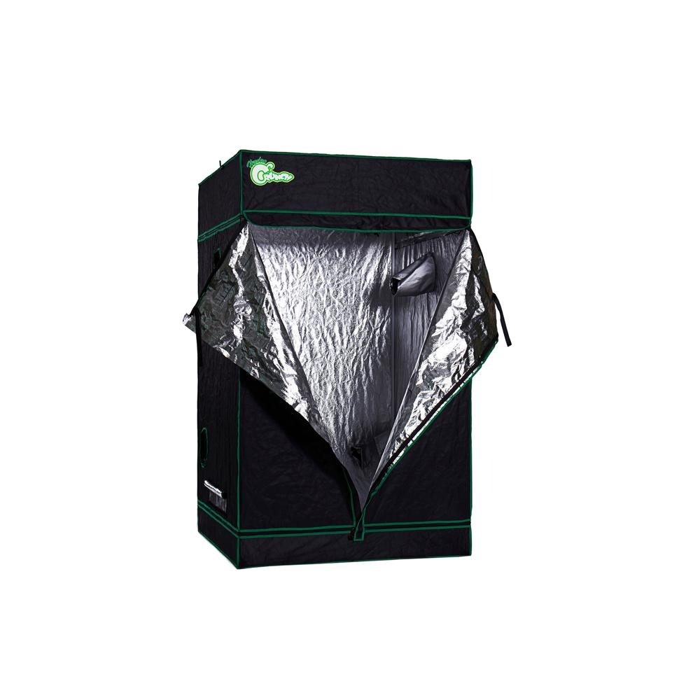 Hydro Crunch Heavy Duty Grow Room Tent 4 ft. x 4 ft. x 6.5  sc 1 st  Home Depot : grow room tent - memphite.com