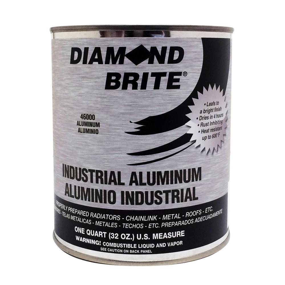Diamond Brite Paint 1 qt. Industrial Aluminum Paint