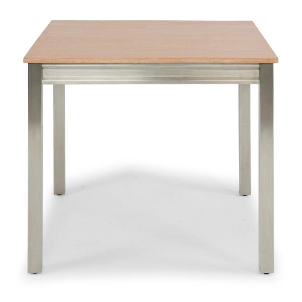 Sheffield Natural White Washed Square Dining Table