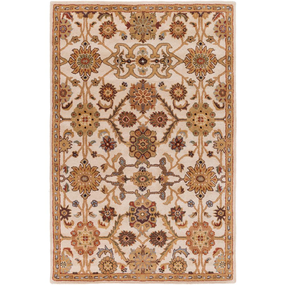 Artistic Weavers Middleton Victoria Ivory 6 Ft X 9 Indoor Area Rug Awmd2075 69 The Home Depot
