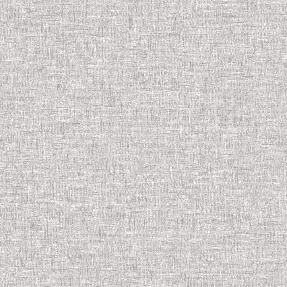Light Grey Linen Textures Wallpaper