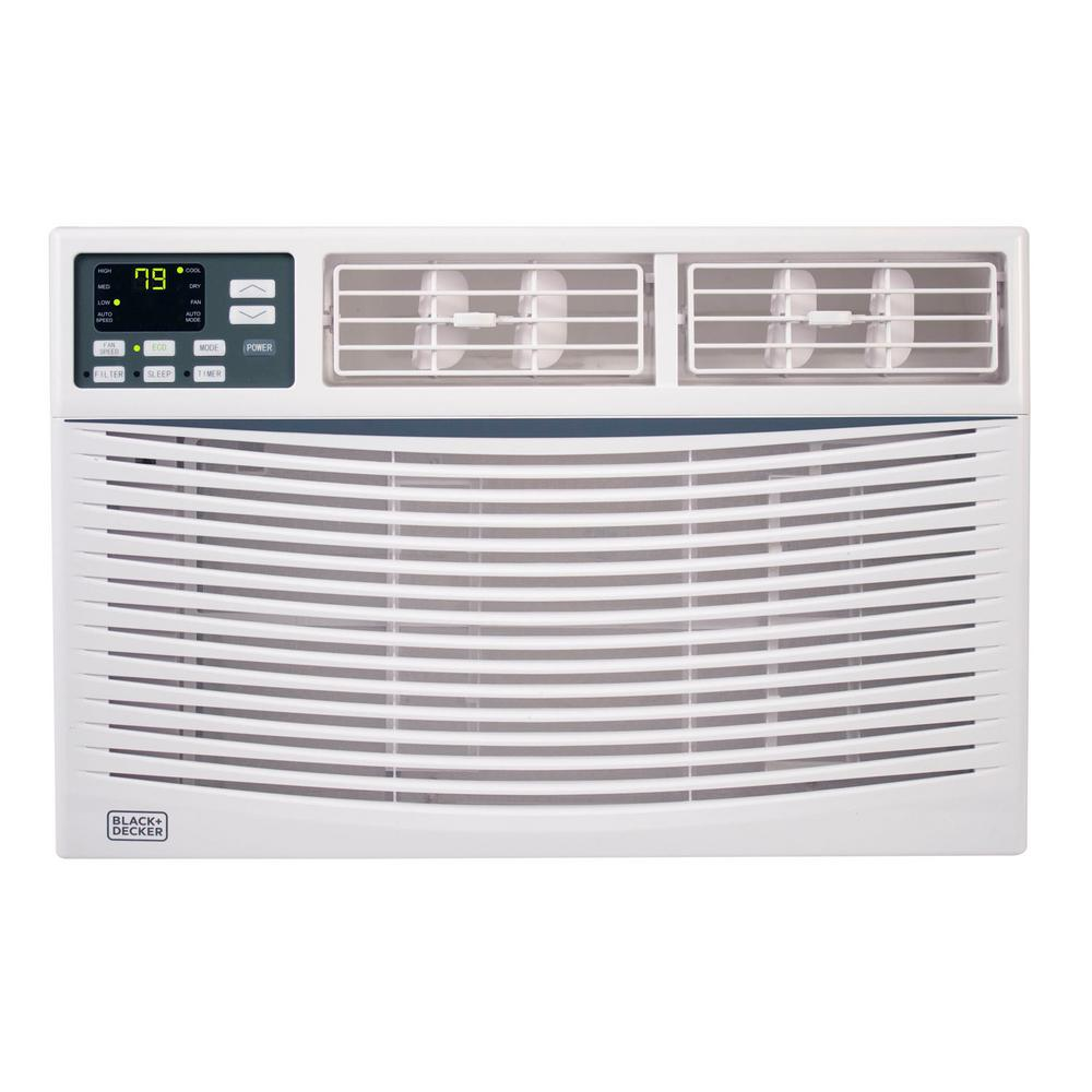 BLACK+DECKER 10,000 BTU Window Air Conditioner with Remote Control