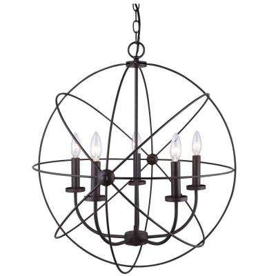 Summerside 5-Light Oil Rubbed Bronze Chandelier