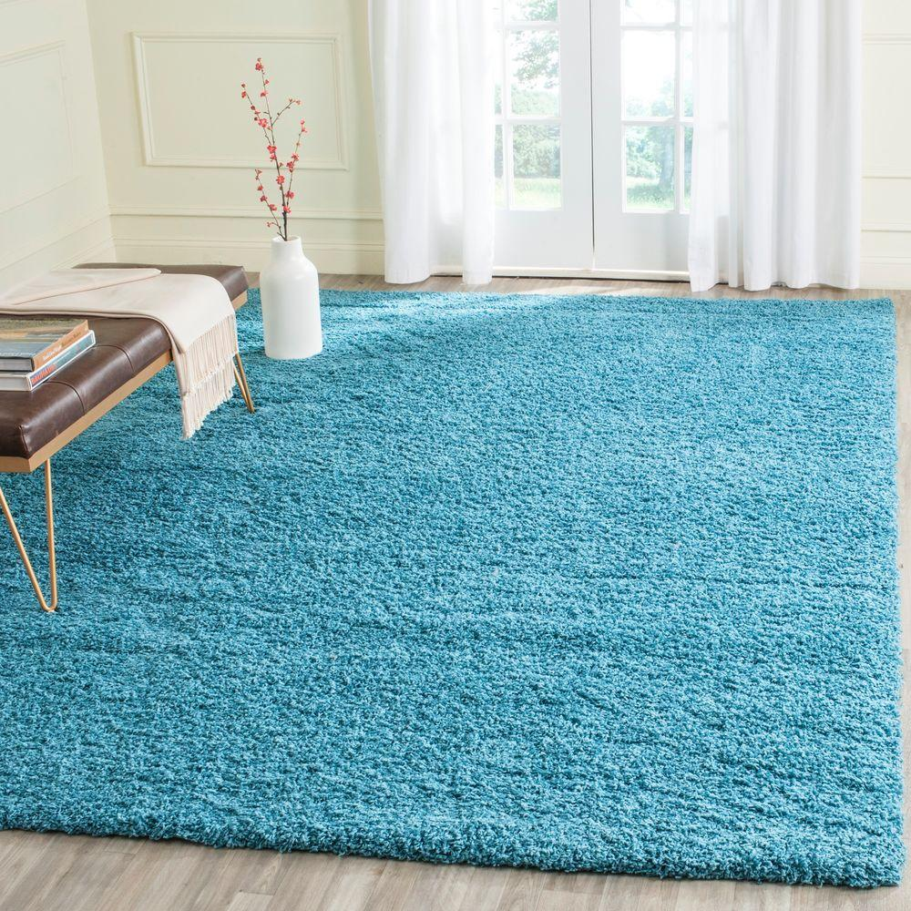 Turquoise Kitchen Rugs New Rug In The: Mohawk Home Modern Shag Starch Tufted 8 Ft. X 10 Ft. Area