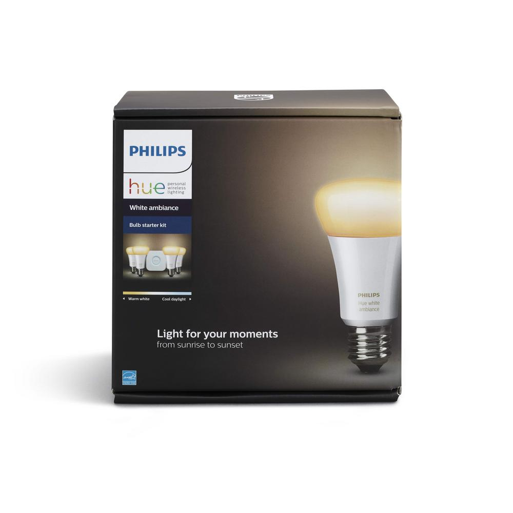 Philips Hue White Ambiance A19 Led 60w Equivalent Dimmable Smart