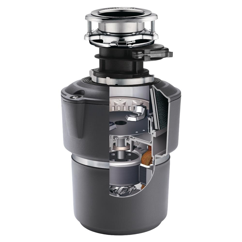 Insinkerator Evolution Cover Control Plus 3 4 Hp Batch Feed Garbage Disposal