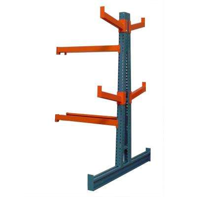 48 in. x 24 in. Double Sided Medium Duty Cantilever Add-on Unit