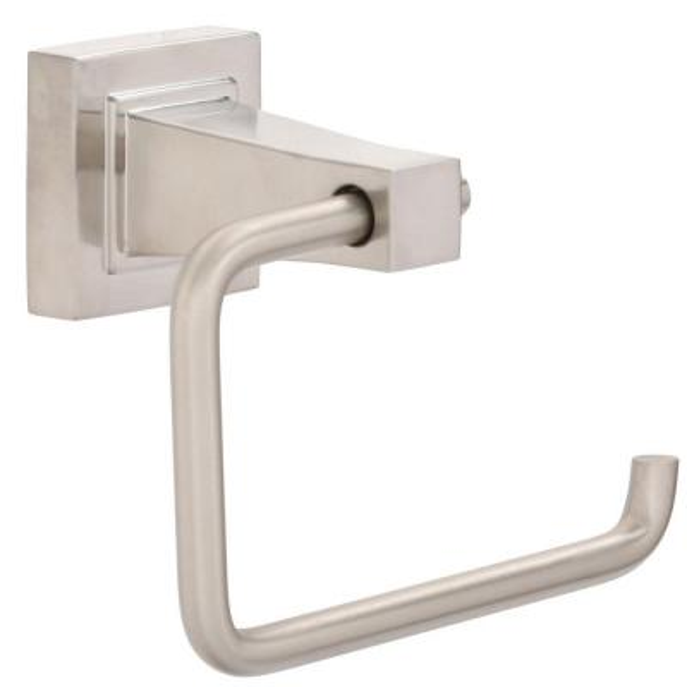 Adelyn Single Post Toilet Paper Holder in Brushed Nickel