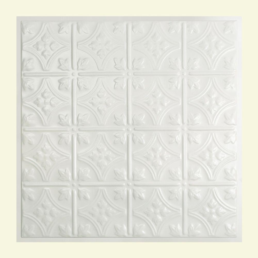 Cutting tin ceiling tiles