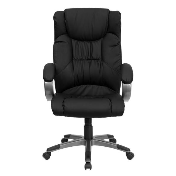 Flash Furniture High Back Black Leather Executive Swivel Office Chair BT9088BK