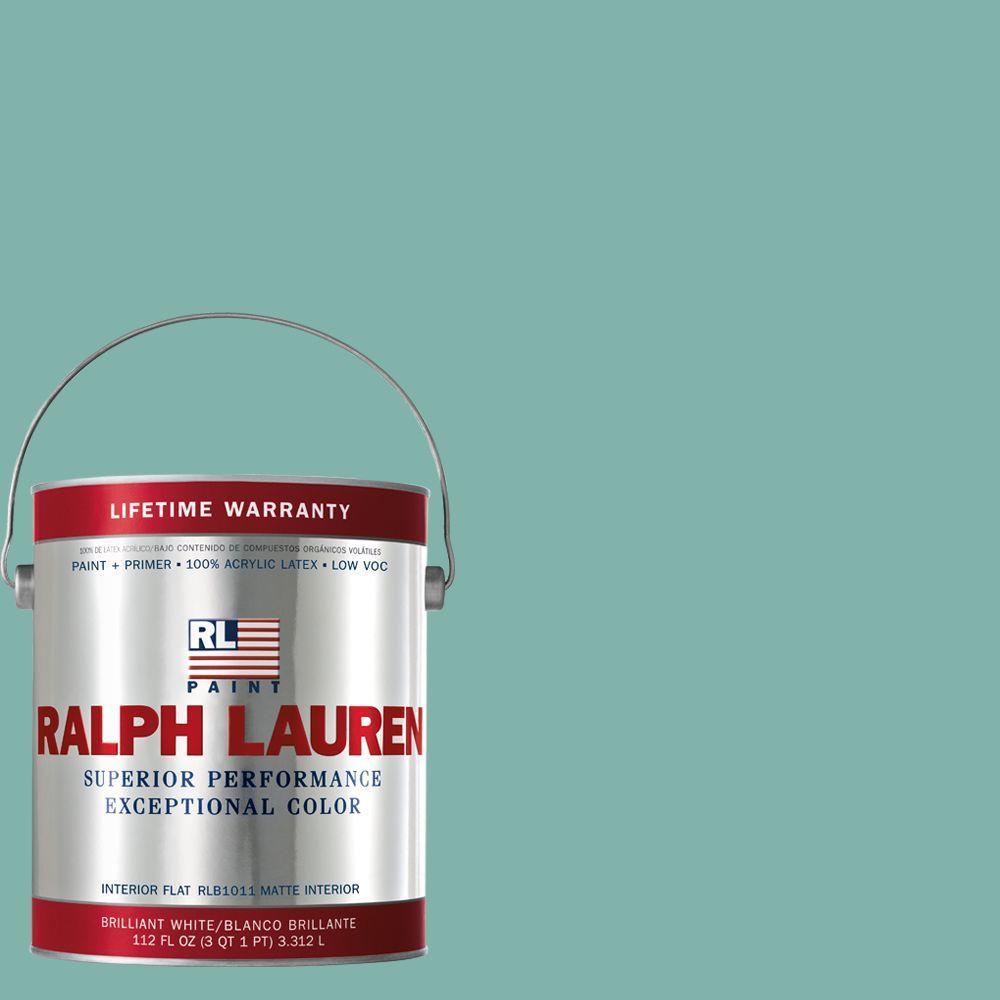 Ralph Lauren 1-gal. Barnstable Blue Flat Interior Paint