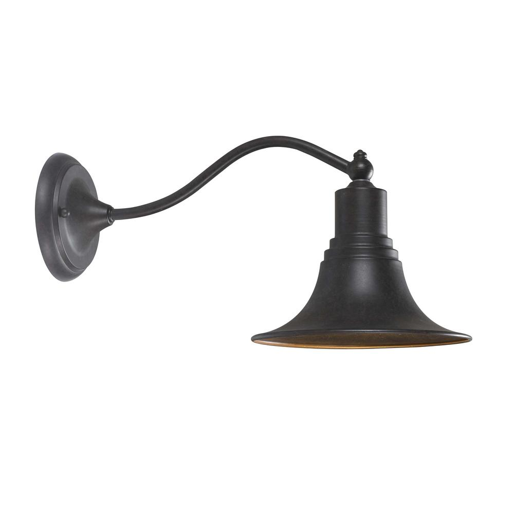 Dark Sky Kingston Outdoor Antique Copper 1-Light Outdoor Lantern