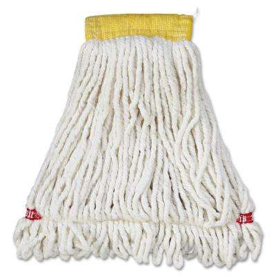 Small Blue Web Foot Shrinkless Mop (Case of 6)