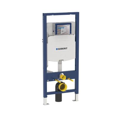 Duofix 0.8/1.28 GPF Dual Flush In-Wall System with Sigma Concealed Tank for 2x4 Construction in White