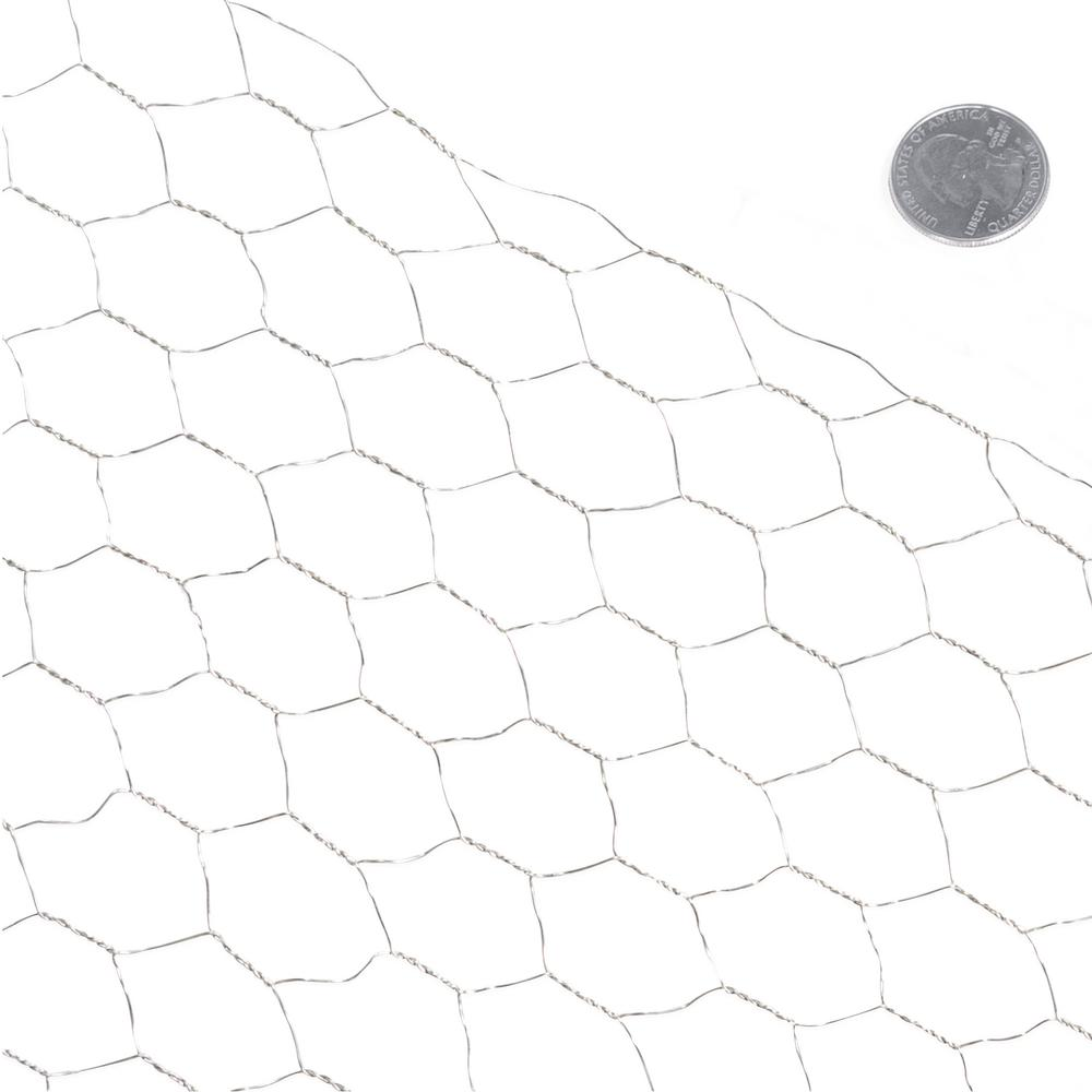 Fencer Wire 3 ft. x 10 ft. 20-Gauge Poultry Netting with 1 in. Mesh