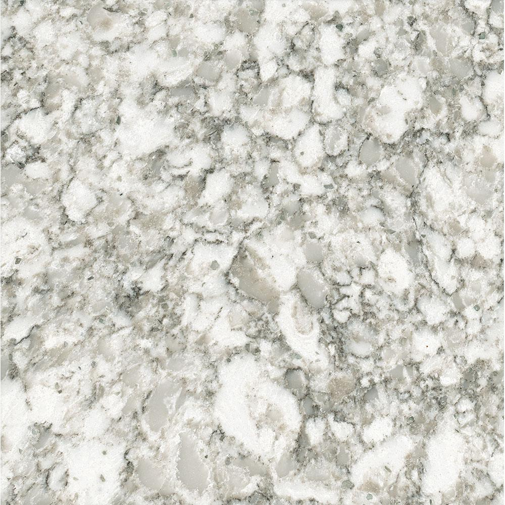 LG Hausys Viatera 3 In. X 3 In. Quartz Countertop Sample In Everest