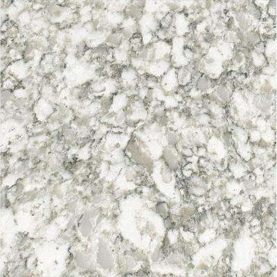 3 in. x 3 in. Quartz Countertop Sample in Everest
