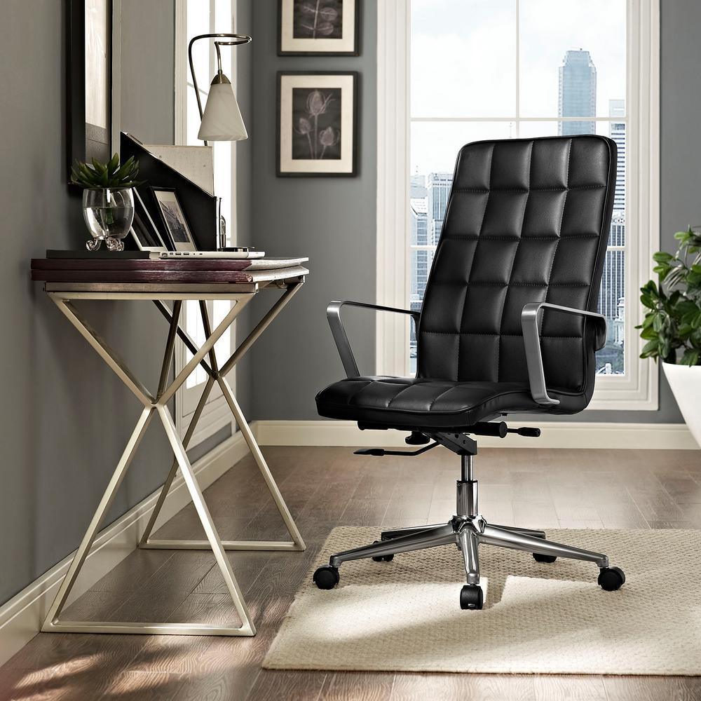 Tile Highback Office Chair in Black