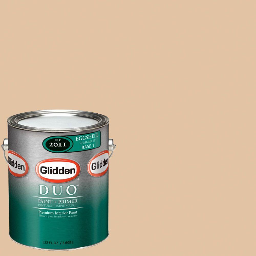 Glidden DUO Martha Stewart Living 1-gal. #MSL037-01E Lunch Bag Eggshell Interior Paint with Primer-DISCONTINUED