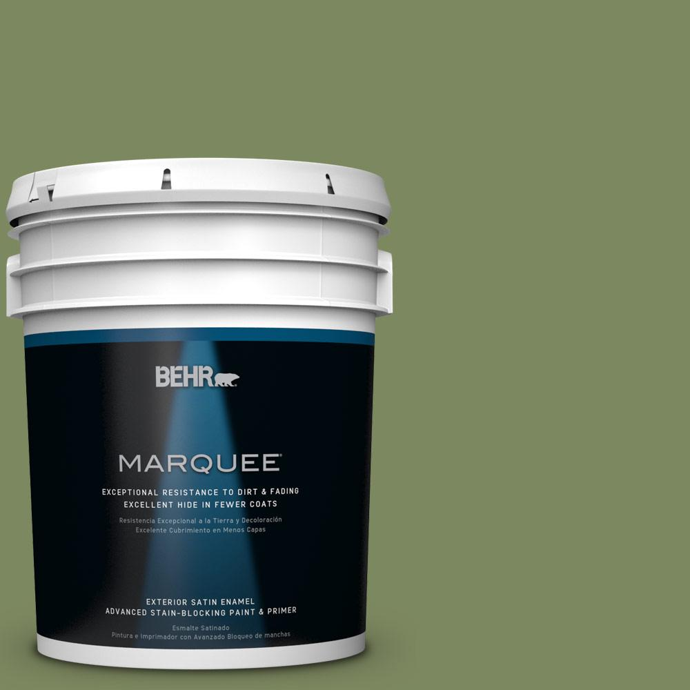BEHR MARQUEE 5-gal. #PPU10-2 Tuscany Hillside Satin Enamel Exterior Paint