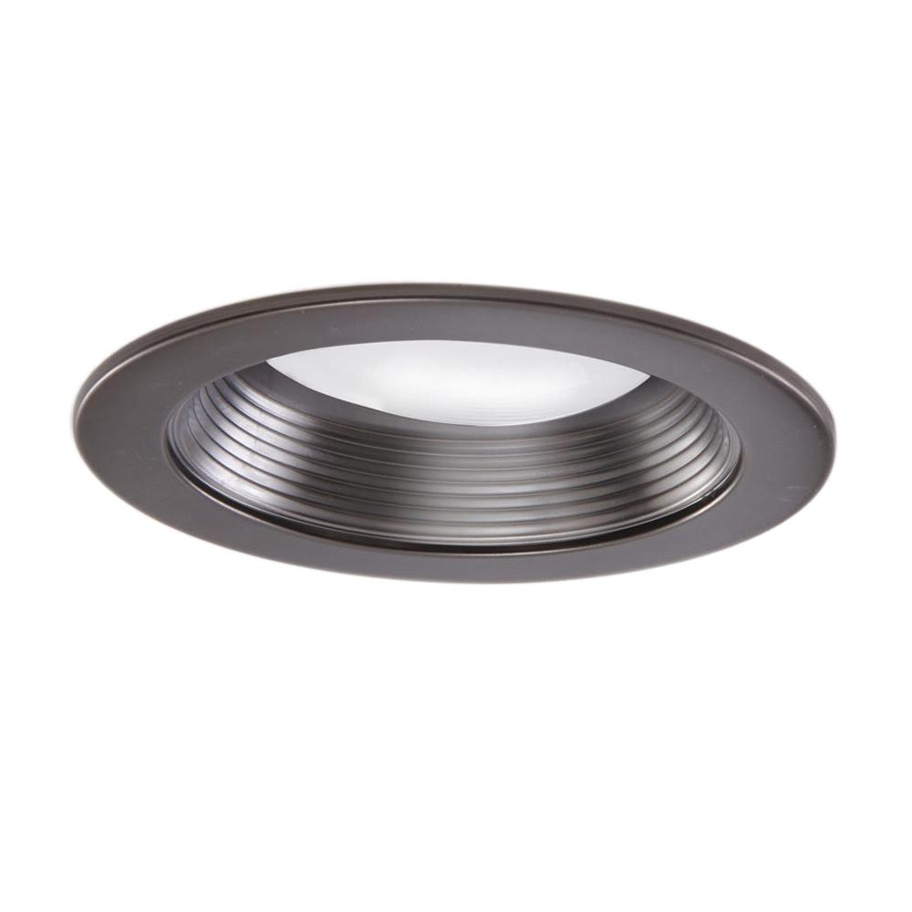 Recessed Kitchen Lighting: Halo 5001 Series 5 In. Tuscan Bronze Recessed Ceiling