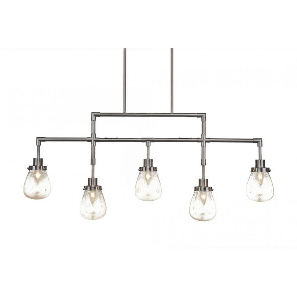 Filament Design 5-Light Brushed Nickel Billiard Light-CLI