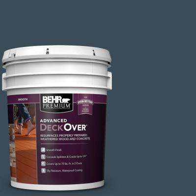 5 gal. #SC-101 Atlantic Smooth Solid Color Exterior Wood and Concrete Coating
