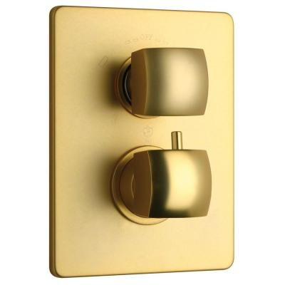 Lady Thermostatic Shower Valve in Satin Gold