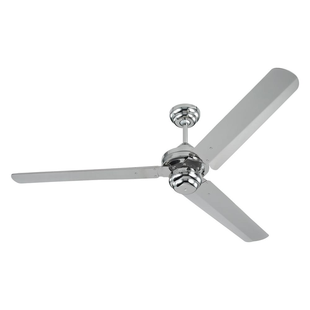 Monte carlo studio 54 in polished nickel ceiling fan 3su54pn the polished nickel ceiling fan mozeypictures Choice Image