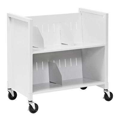25-7/8 in. W Low Profile Medical File Cart
