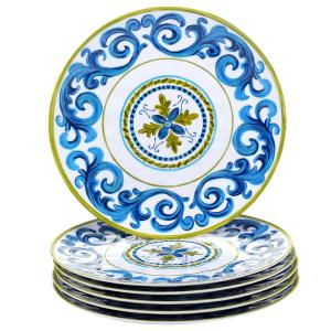 Blue Grotto Dinner Plate (Set of 6) by