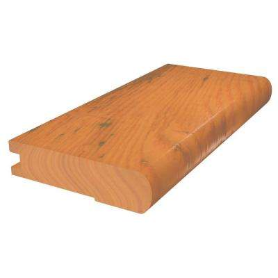 Natural 3/8 in. Thick x 2 3/4 in. Wide x 78 in. Length Flush Stair Nose Molding