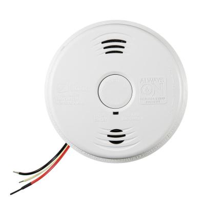 10-Year Worry Free Hardwired Combination Ionization Smoke and Carbon Monoxide Detector with Voice Alarm