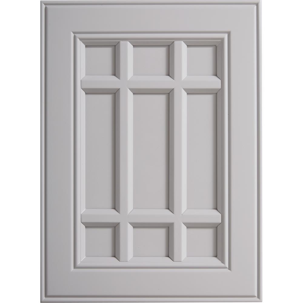 Installed Cabinet Refacing Grey Doors