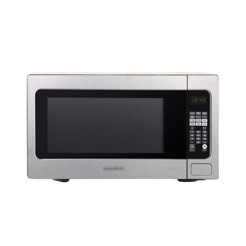 Black & Decker EM262AMY-phb 2.2 Cu. Ft. Microwave with Sensor Cooking, Stainless Steel