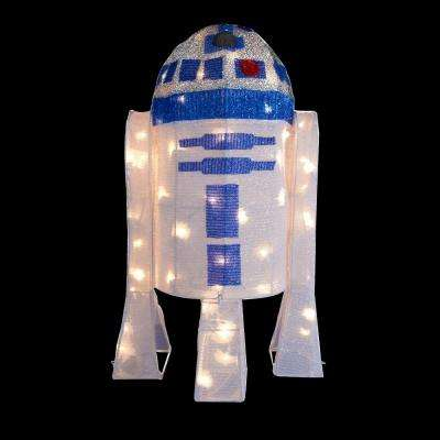 28 in. Star Wars R2D2 Yard Decor