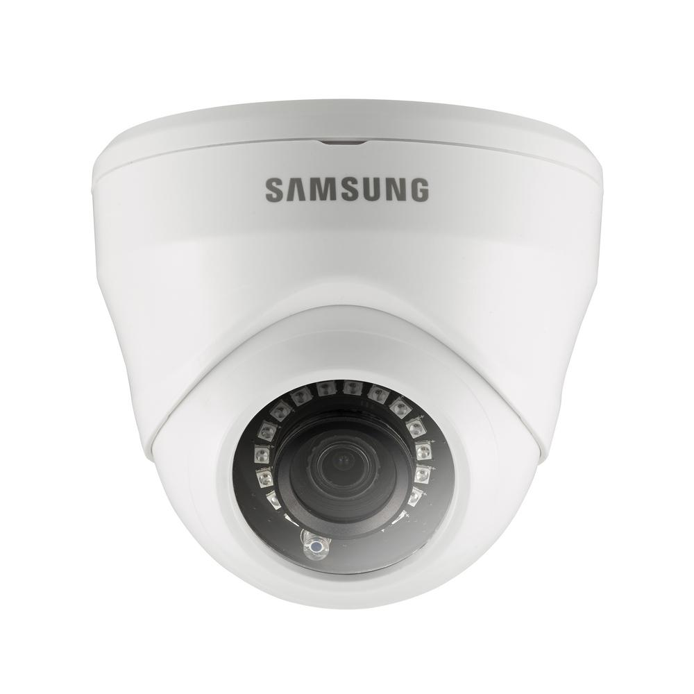 samsung 1080p wired full hd dome accessory standard surveillance camera sdc 9443df the home depot. Black Bedroom Furniture Sets. Home Design Ideas