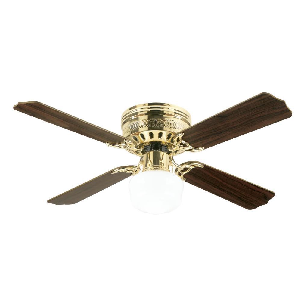 Casanova Supreme 42 in. Polished Brass Ceiling Fan