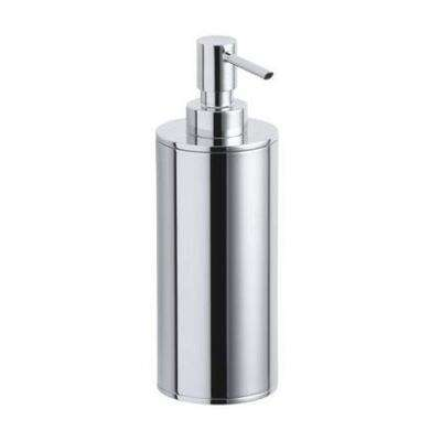 Purist Countertop Metal Soap Dispenser in Polished Chrome