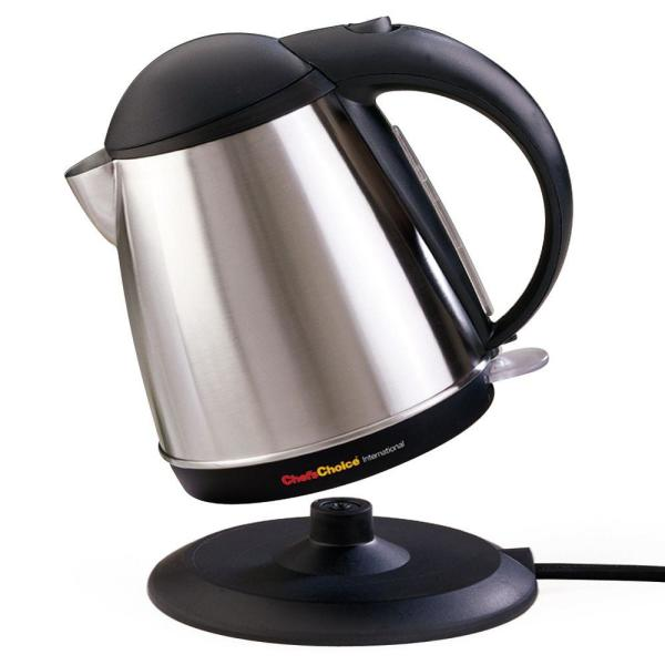 Chef'sChoice 11-Cup Stainless Electric Kettle with Automatic Shut-Off 677