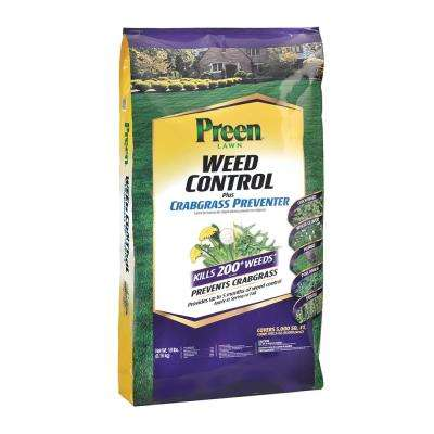 18 lbs. Lawn Weed Control Plus Crabgrass Preventer